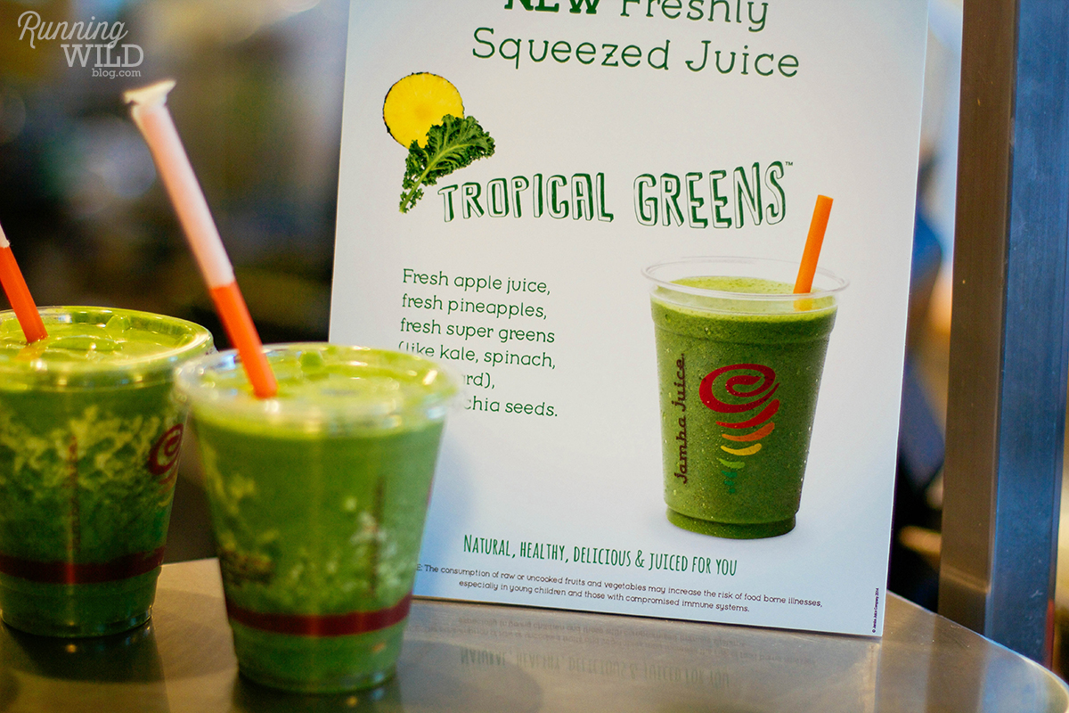 green juice the jamba juice i went to just the tropical green juice ...